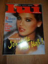 LUI (D) 9 September 1988 ORNELLA MUTI A3 Sondergröße Kult Sammlung