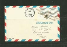 United States #UXC17 Curtiss (JN4H) Jenny Postal Card