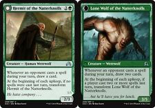 x4 Hermit of the Natterknolls // Lone Wolf of the Natterknolls MTG Shadows over