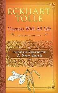 Oneness with All Life - Selections from a New Earth..HARDCOVER..Eckhart Tolle V2