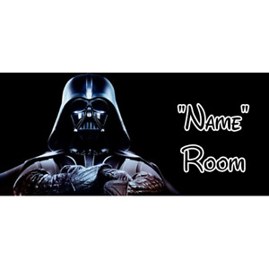 Star Wars Personalised Bedroom Door Sign  - Any Text/Name (3)