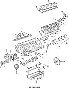 Genuine GM Camshaft Bearings 12453172