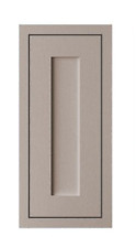 Cooke & Lewis Carisbrooke FRAMED TALL WALL DOOR 500mm x 940mm TAUPE