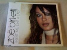 ZOE BIRKETT - TREAT ME LIKE A LADY - UK CD SINGLE