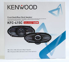 Kenwood 160 Watts 4x10 inch 2-Way Car Speaker System-KFC-415C-New