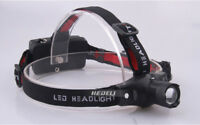 Pro Mini Zoomable Rechargeable LED HeadLamp CREE Q5 Flashlight Head Torch