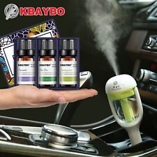 Mini Car Aroma Essential Oil Diffuser Humidifier Aromatherapy Portable Cool Mist