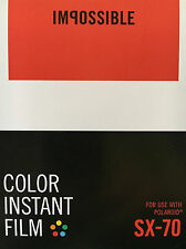 Impossible Color Film for SX-70 NEW 2 Films