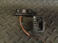 2003 JEEP GRAND CHEROKEE 2.7 CRD 5DR HEADLIGHT ADJUSTER & SEAT SET SWITCHES