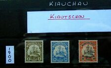 1901 Kiautschou German Colonies stamp collection - mint previously hinged
