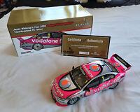 Jamie Whincup 2009 Championship Winner Vodafone Ford FG Falcon V8 Supercar 1:18