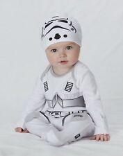 Star Wars Stormtrooper babygrow sleep suit 3-6 Months Romper The Force Awakens