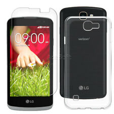 Tempered Glass Screen Protector Case for Lg Optimus Zone 3 Vs425Pp Verizon Phone