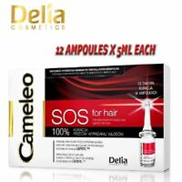 Delia SOS for Hair Intensive Treatment Ampules Against Hair Loss 12 Days