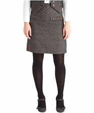 Polyester Patternless A-line Casual Skirts for Women