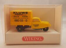 Wiking 1:87 - Goli-Dreirad KLUWE gelb 841 01 24 - OVP #512