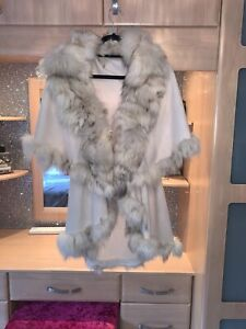 Real Fox Fur Cape
