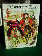 The Canterbury Tales by Geraldine McCaughrean, ill. Victor Ambrus (hb, 1984)