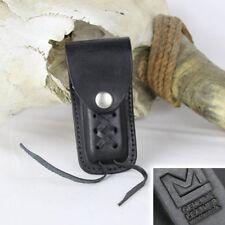 COLTELLO tasca HOLSTER Coltello Coltellino nero vera pelle per le piccole COLTELLO