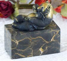 Bronze Pandabär Skulptur Panda Bär Figur Bronzefigur Tierfigur Statue Deko Neu