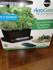 Miracle Gro Aerogarden Harvest Elite  Stainless Steel 6 Pod Seed Garden Wifi