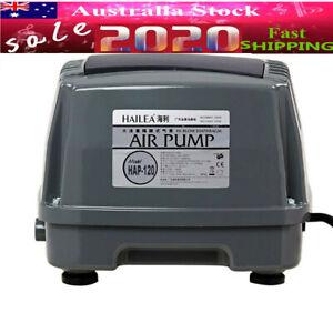 HAP-120 Hailea Air Diaphragm Pump,120L/M Hiblow Septic Linear For Aquarium Fish