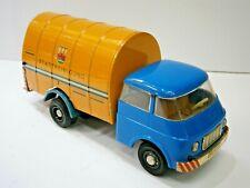 "VINTAGE RARE DDR GERMAN FRICTION TOY TIN CAR TRUCK TUMBREL REFUSE ""MS Veb"" SKODA"