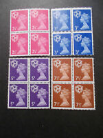 4 x GB 1971 Regionals Collection~Isle of Man~(16)~Unmounted Mint~UK Seller