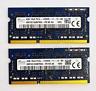 8GB (2x4GB) DDR3L 1600MHz Laptop RAM ~~ PC3L 12800S SODIMM Memory 204 1.35v VAT
