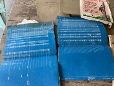 New listing 1920's 30's Bell telephone Employee's books logs telephone pole maps