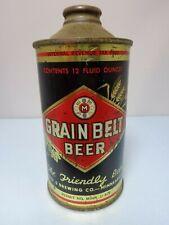 Grain Belt Irtp Cone Top Beer Can #166-30 Minneapolis Minnesota