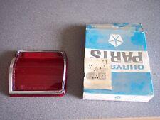 1965 Plymouth Wagon NOS MOPAR Right Tail Light Lamp Lens part # 2525545