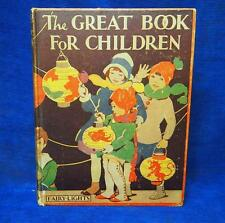 1930's ? The Great Book for Children Oxford University Press Antique Classic