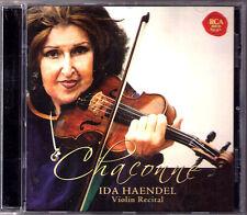 Ida HAENDEL: CHACONNE Sarasate Zigeunerweisen Bach Partita Mozart Wieniawski CD