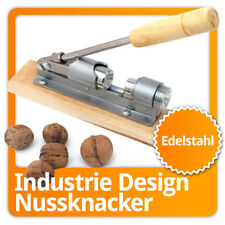 Retro Nussknacker mit Hebelfunktion aus Edelstahl Hebel Nußknacker Nuss Knacker