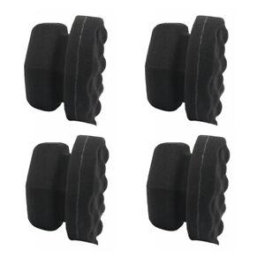4x Hex-Grip Tire Dressing Applicator Detailing Tools For Tire Shine Dressing 8cm