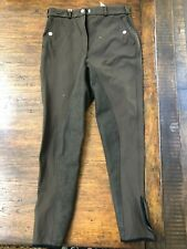 Pikeur Mondega Full Seat Ladies Breeches Size 26 in Chocolate