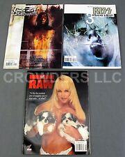 Kiss Psycho Circus #3 + Ozzy Osbourne McFarlane Comics & WWF Raw August 1999