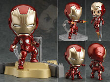 Anime Nendoroid Figure Toy Iron Man Action Figurine 10cm