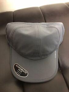 "ADIDAS Hat Cap ClimaLite ""SuperLite"" Men Women Run Team Adjustable Gray"