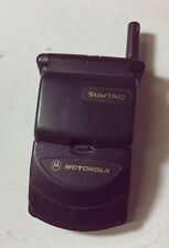 MOTOROLA StarTAC CLAMSHELL FLIP MOBILE PHONE vintage
