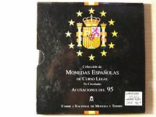 CARTERA FNMT AÑO 1995 JUAN CARLOS I     ( MB10511 )