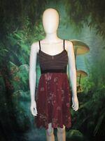 Scrapbook originale Womens Burgundy Spagghetti Strap Dress S (A)