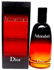 Fahrenheit After Shave Lotion Splash by Dior 3.4 oz. Brand New in Sealed Box.