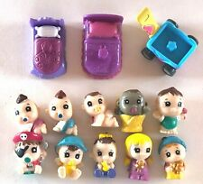 SQUINKIES Blip BABIES Crawling PIRATE Sitting Rattle TODDLERS Beds WAGON Lot 13