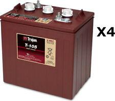 4x Trojan T105 Batterie à décharge profonde