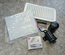 Inspektionspaket Filter Wartungskit Zündkerzen Toyota Corolla E12 1,8 TS 141KW
