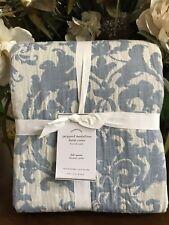 Pottery Barn JACQUARD LINEN MEDALLION Duvet, Full.Queen, New W/$249.00Tag