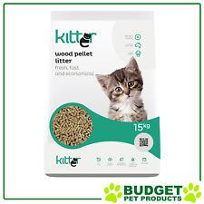 Kitter Cat Litter Wood Pellet Litter 15kg