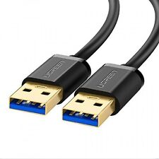 UGREEN USB 3.0 A to A Cable Type A Male to Male Cable Cord for Data Transfer